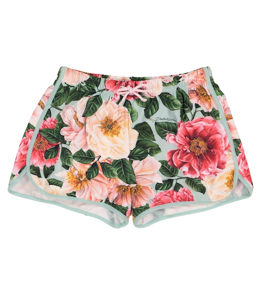 Dolce & Gabbana Kids - Floral swim trunks - mytheresa.com