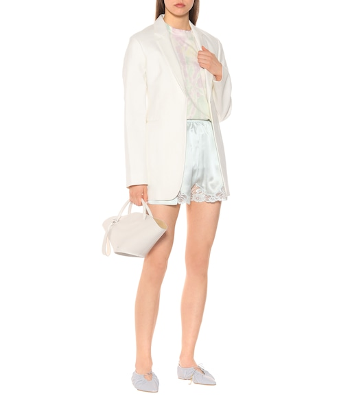 Stella McCartney - Silk satin shorts - mytheresa.com