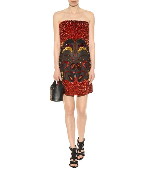 Tom Ford - Sequin-embellished minidress - mytheresa.com