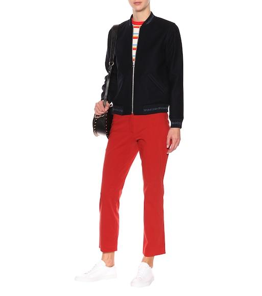 A.P.C. - Iggy flared trousers - mytheresa.com