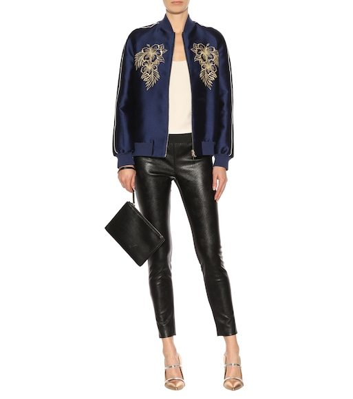 Stella McCartney - Darcelle faux leather leggings - mytheresa.com