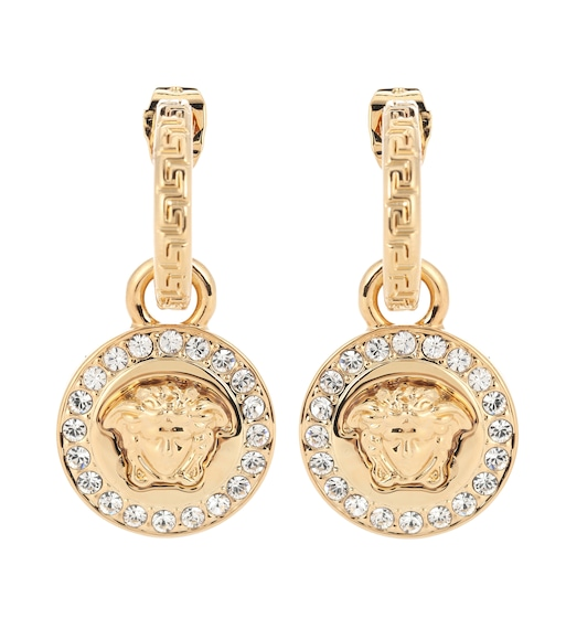 Versace - Greca and Medusa earrings - mytheresa.com