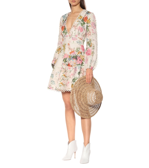 Zimmermann - Heathers floral linen dress - mytheresa.com