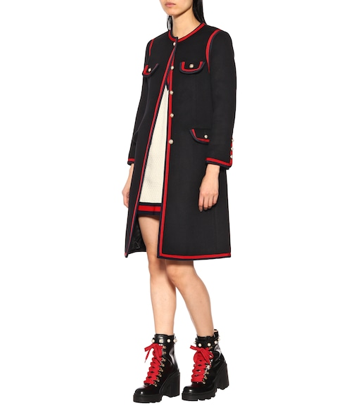 Gucci - Cappotto in lana - mytheresa.com 9996fe198dc2