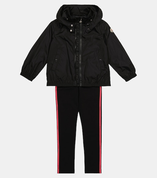 Moncler Enfant - Zanice hooded jacket - mytheresa.com