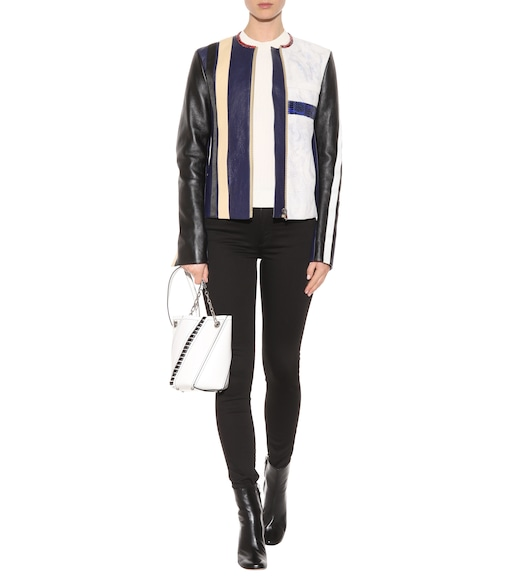 Acne Studios - Maylor leather jacket - mytheresa.com
