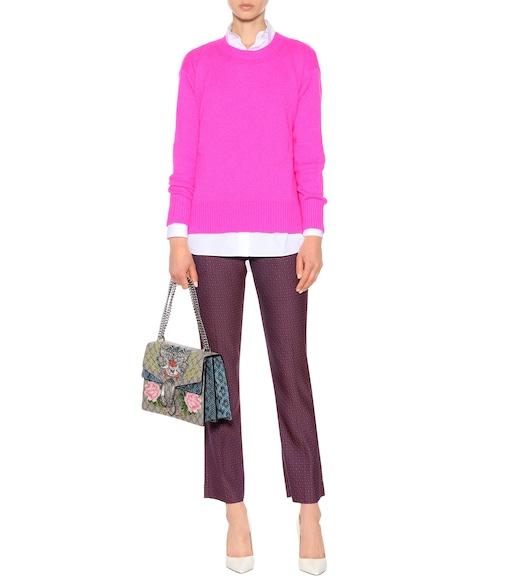 Etro - Wool and cashmere-blend sweater - mytheresa.com