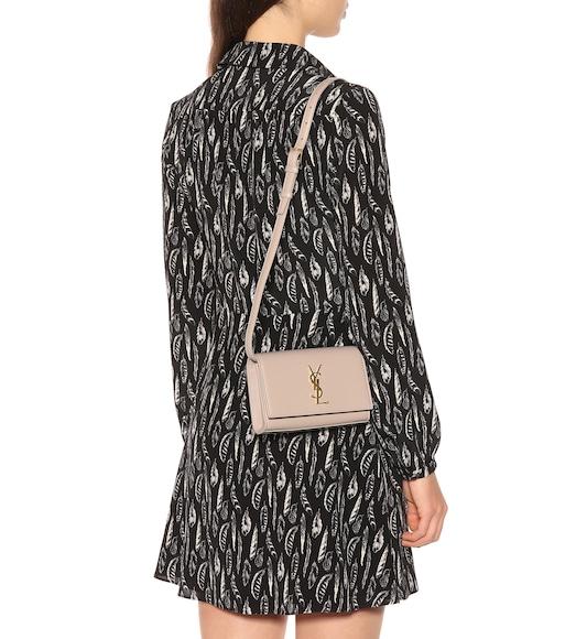 8a30daa4b65 Saint Laurent - Kate leather belt bag - mytheresa.com