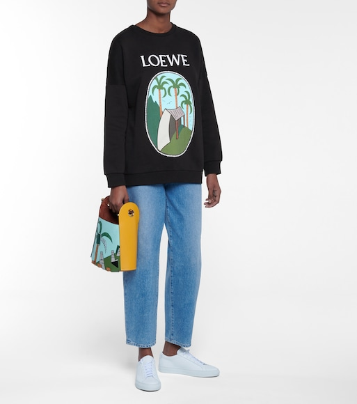 LOEWE - x Ken Price printed cotton sweatshirt - mytheresa.com