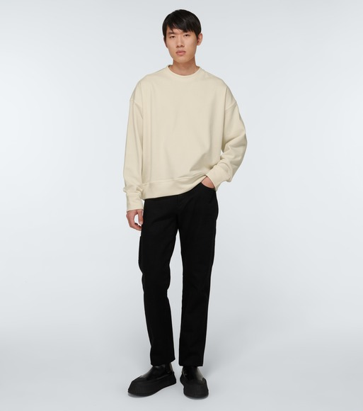 Jil Sander - Long-sleeved cotton sweatshirt - mytheresa.com