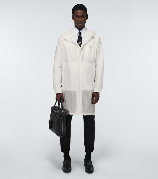Prada - Re-Nylon raincoat - mytheresa.com