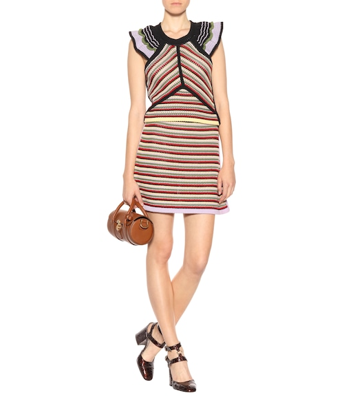 AlexaChung - Striped cotton skirt - mytheresa.com