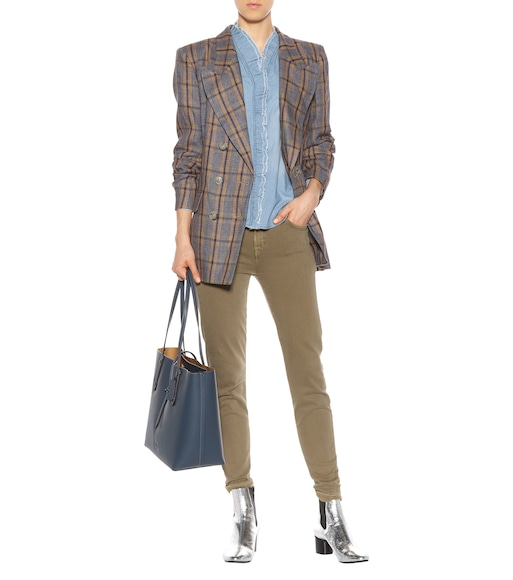 Isabel Marant, Étoile - Ianey plaid linen jacket - mytheresa.com