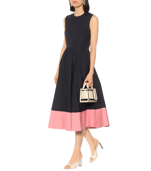 Roksanda - Athena cotton-poplin midi dress - mytheresa.com
