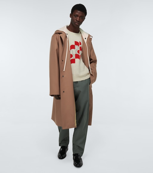 Jil Sander - Hooded wool parka - mytheresa.com