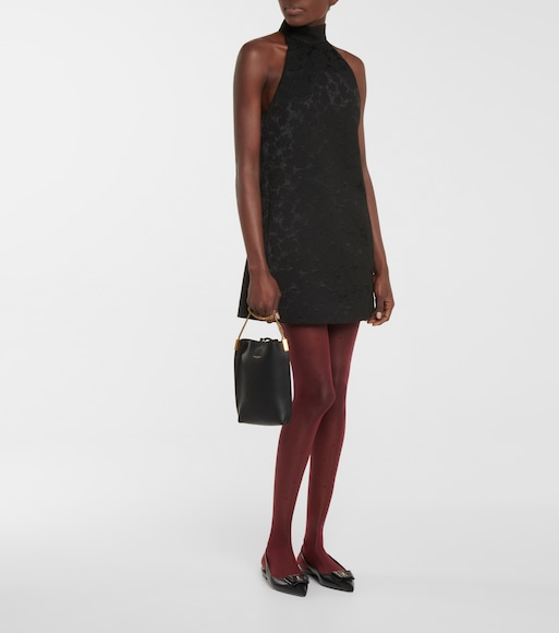 Saint Laurent - Polka-dot voile tights - mytheresa.com