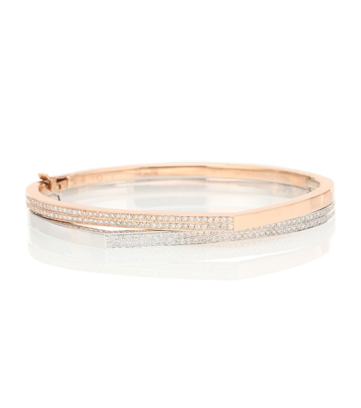 Repossi - Exclusive to Mytheresa – Antifer 18kt rose gold and white gold bracelet with diamonds - mytheresa.com