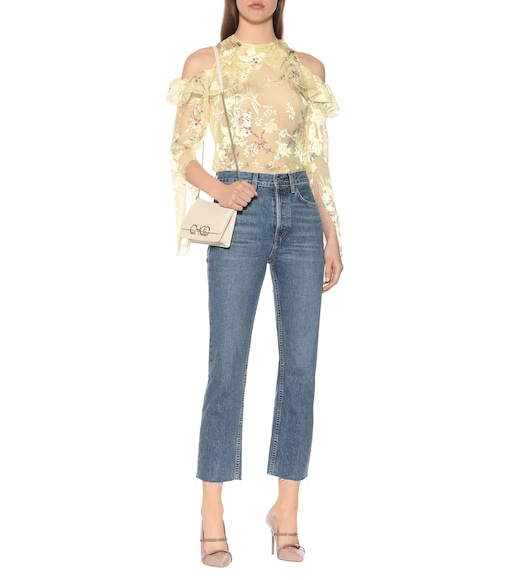 Preen by Thornton Bregazzi - Ana printed silk-blend top - mytheresa.com