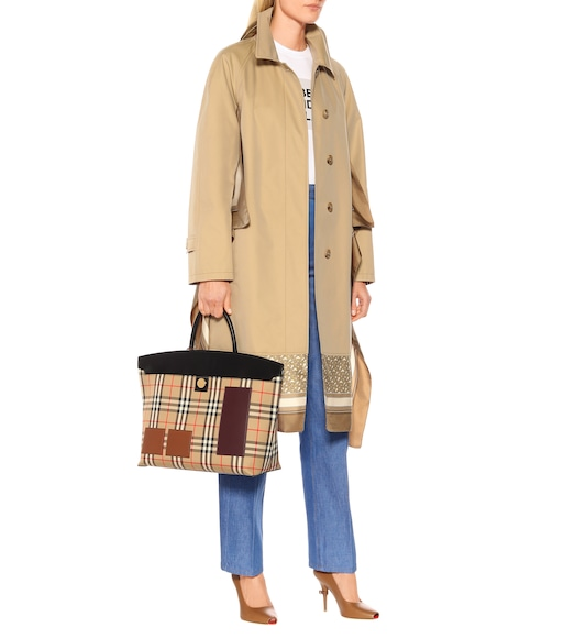 Burberry - Cotton gabardine trench coat - mytheresa.com