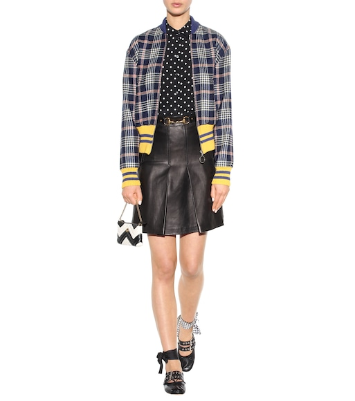 Stella McCartney - Polka-dot and striped silk blouse - mytheresa.com