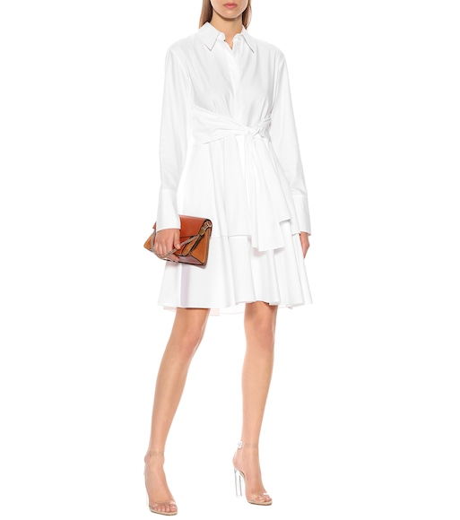 Stella McCartney - Cotton shirt dress - mytheresa.com