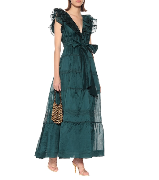 Ulla Johnson - Severine cotton and silk organza gown - mytheresa.com