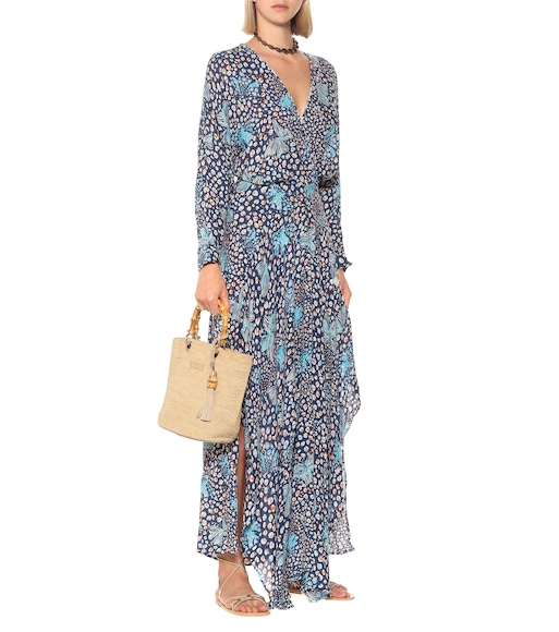 Poupette St Barth - Ilona printed asymmetric maxi dress - mytheresa.com