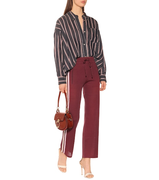 Isabel Marant, Étoile - Ycao striped cotton-blend shirt - mytheresa.com