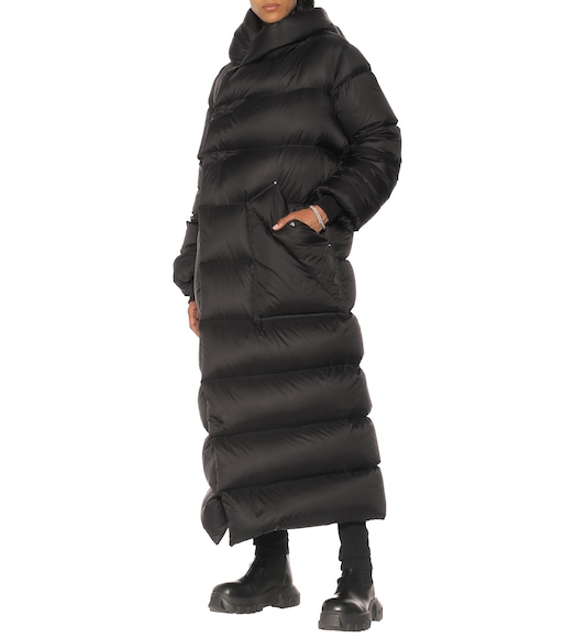 Rick Owens - Long Liner quilted down coat - mytheresa.com