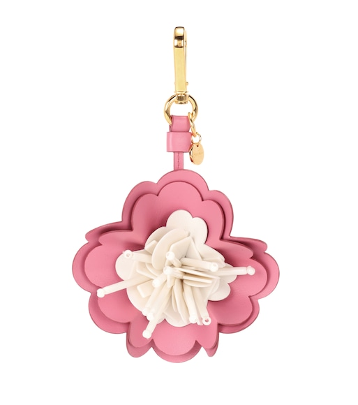 Miu Miu - Exclusive to mytheresa.com – embellished leather bag charm - mytheresa.com