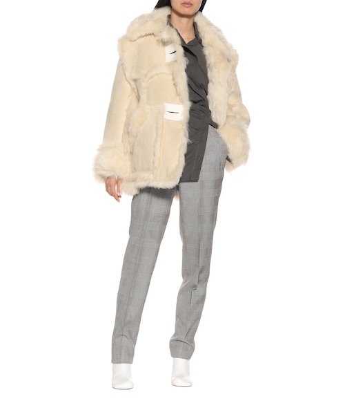 Acne Studios - Oversized shearling jacket - mytheresa.com