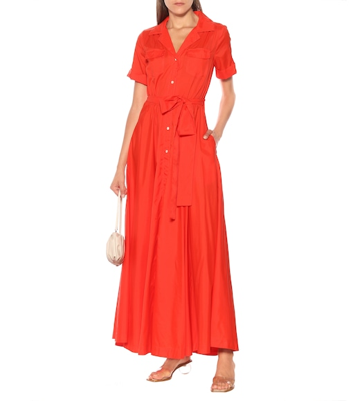 Staud - Millie midi shirt dress - mytheresa.com