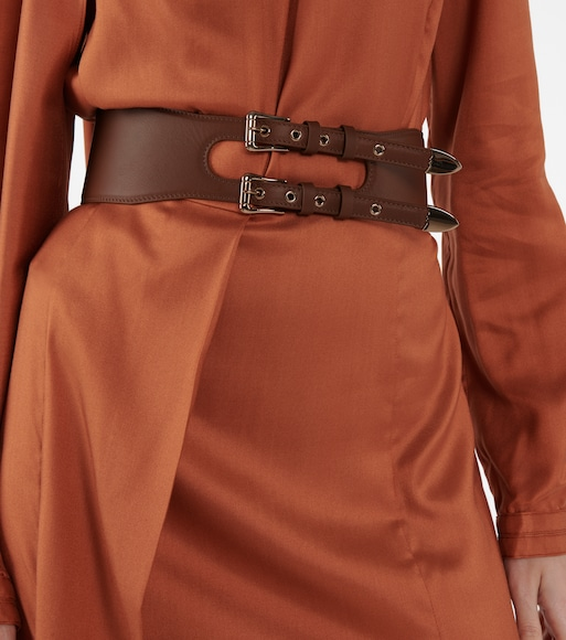 Gabriela Hearst - Minerva leather belt - mytheresa.com