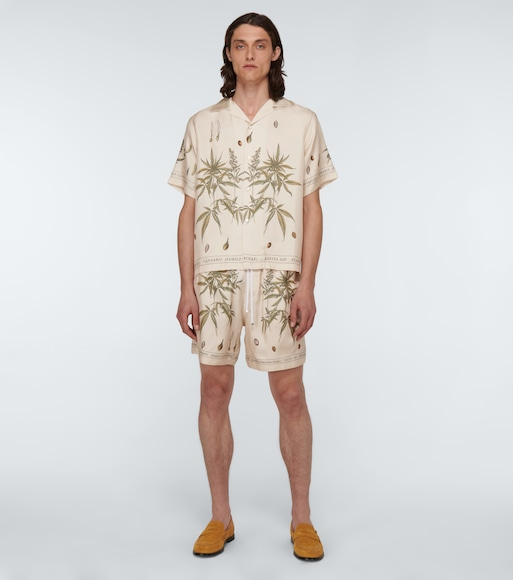Amiri - Kurzarmhemd Botanical Leaves - mytheresa.com