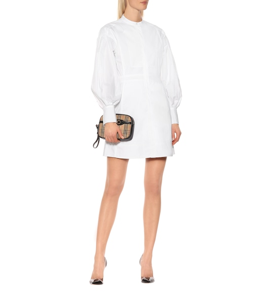Burberry - Cotton shirt dress - mytheresa.com