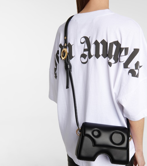 Off-White - Burrow 22 leather shoulder bag - mytheresa.com