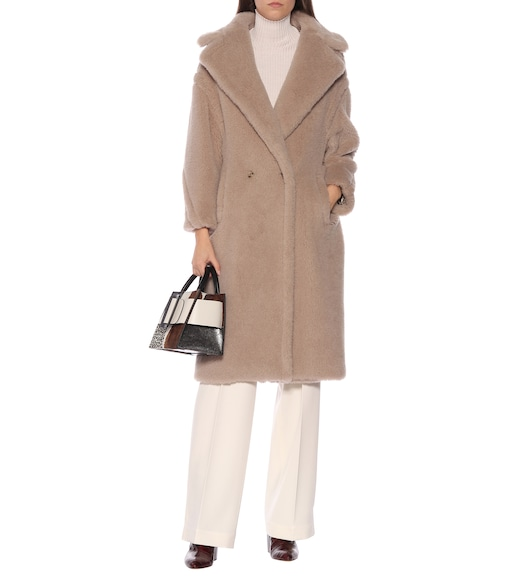 Max Mara - Tedgirl alpaca, wool and silk coat - mytheresa.com
