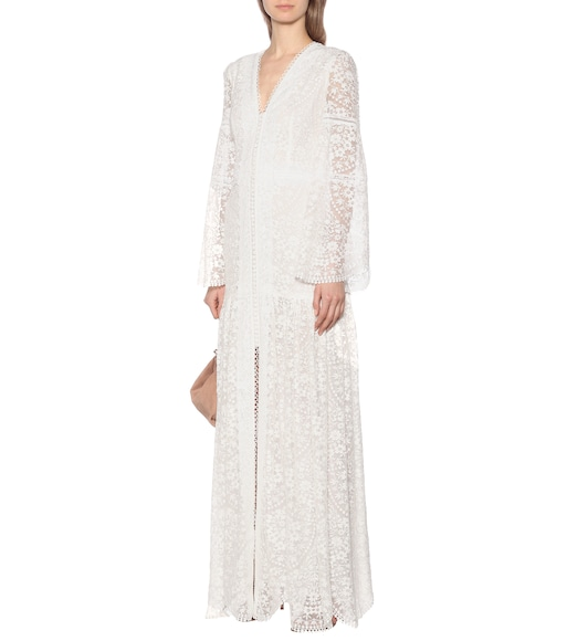 Costarellos - Lace gown - mytheresa.com