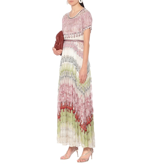 Missoni - Zig-zag knit maxi dress - mytheresa.com