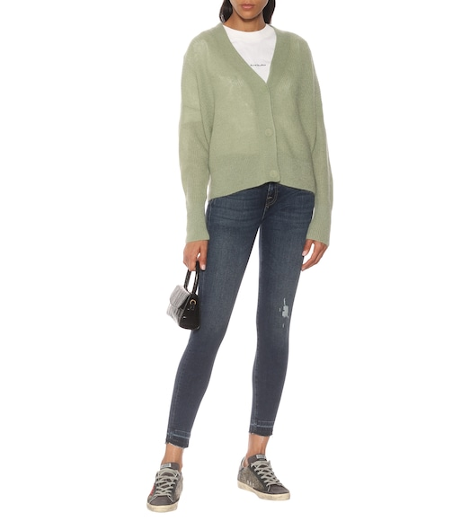7 For All Mankind - Mid-Rise Jeans The Skinny - mytheresa.com