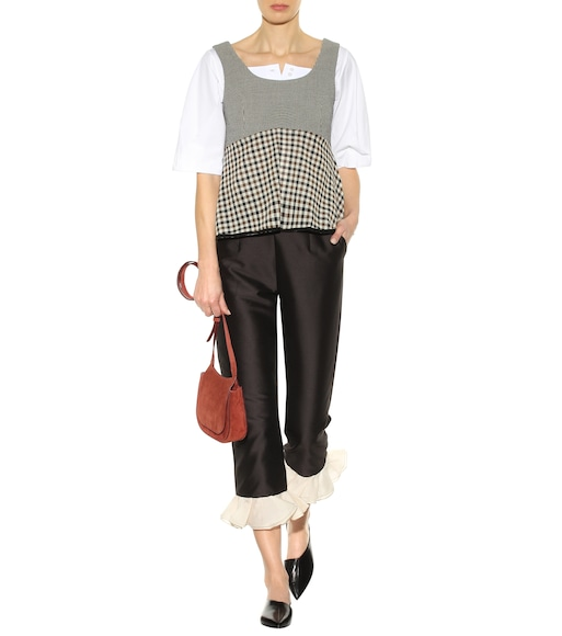 Isa Arfen - Shrimpton wool top - mytheresa.com