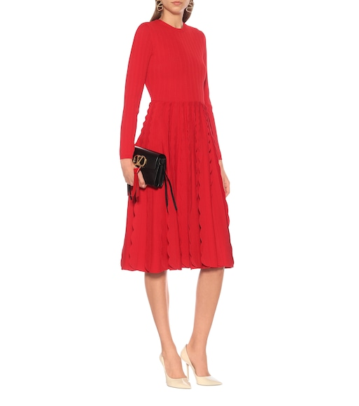 Valentino - Knitted dress - mytheresa.com