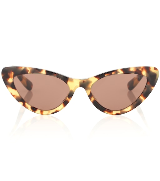 Miu Miu - Cat-eye sunglasses - mytheresa.com