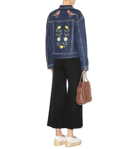Stella McCartney - Veste en jean à ornements - mytheresa.com