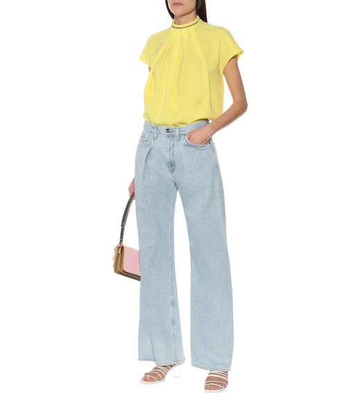 Goldsign - The Wide Leg mid-rise jeans - mytheresa.com