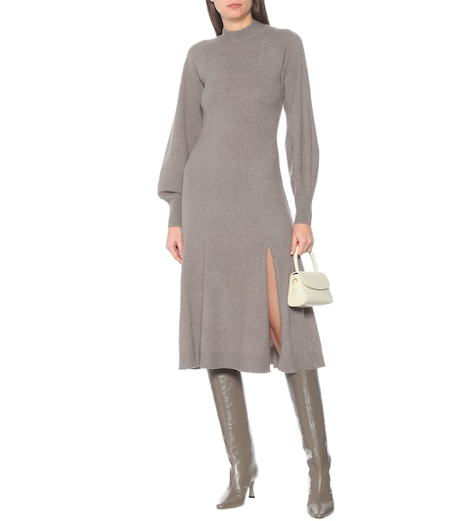 Jonathan Simkhai - Brielle cashmere midi dress - mytheresa.com