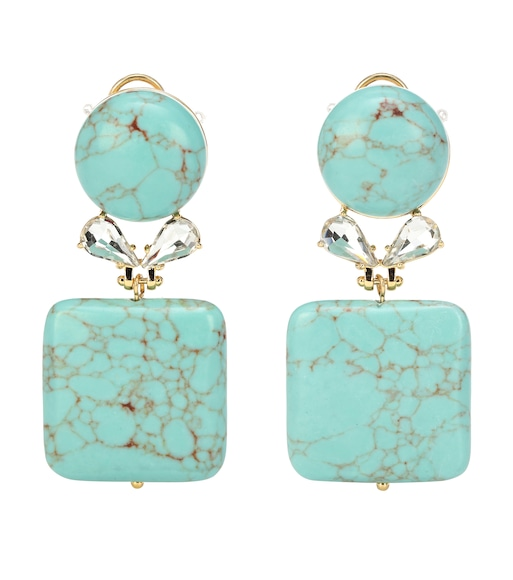 Lele Sadoughi - Stone Starlet earrings - mytheresa.com