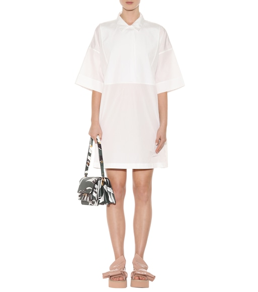 Acne Studios - Sena cotton shirt dress - mytheresa.com