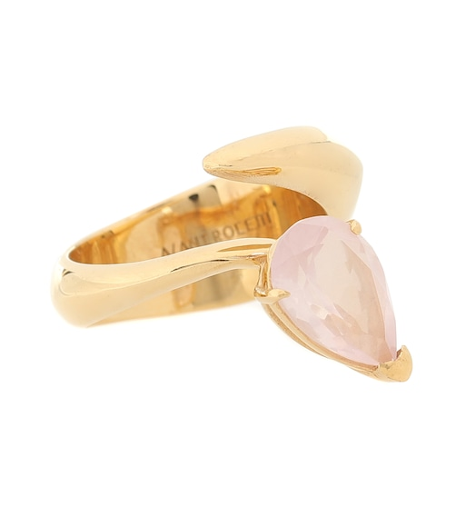 Alan Crocetti - Exclusive to Mytheresa – Alien gold vermeil ring - mytheresa.com