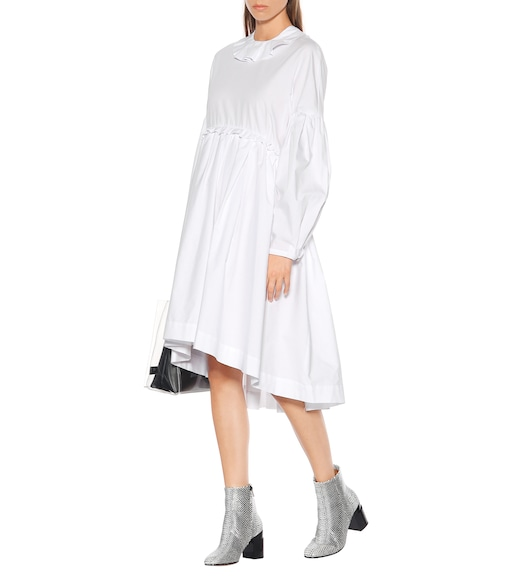 AlexaChung - Long-sleeved cotton dress - mytheresa.com